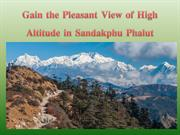 Gain the Pleasant View of High Altitude in Sandakphu Phalut