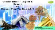 Importers & Exporters – Trade Finance – Bronze Wing Trading