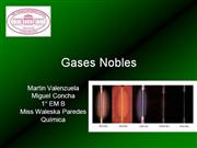 Gases Nobles (noble gases)