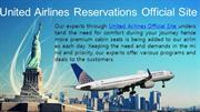 United Airlines Reservations official site 2