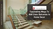 Glass Balcony Railing Systems | Modern Balconies