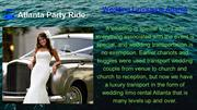 Buying Limo Rental Service Atlanta Is Costly But Hiring Is Not