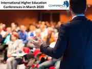 International Higher Education Conferences in March 2020