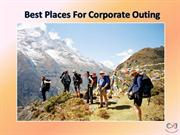 Best Corporate Offsite Tour Packages – Corporate Offsite Near Delhi