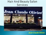 Hair And Beauty Salon Services in Mumbai - Jean Claude Olivier
