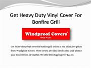 Shop Bonfire Grill Covers In USA