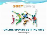 ONLINE SPORTS BETTING SITE