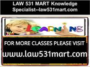 LAW 531 MART Knowledge Specialist--law531mart.com