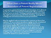 What Does a Patent Really Mean - Procedure of Patent Registration