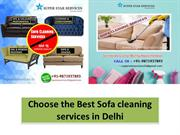 Choose the Best Sofa cleaning services at cheapest price