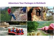 Resorts in Rishikesh | Adventure Tour Packages