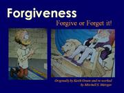 Forgiveness by Mitch Metzger