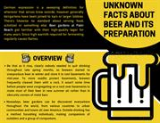 Unknown Facts About Beer and Its Preparation