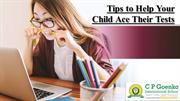 Tips to Help Your Child Ace Their Tests