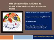 Lower elevated PSA with PSA Protocol formula! | StopPSAFromRising