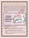 How To Handle The Errors During Quicken Cloud Sync?