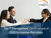 Top IT Management Certifications of 2020 - infosavvy (1)