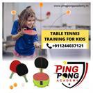 Table Tennis Training for Kids