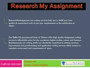 Research My Assignment