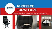 Shop Online White Office Desk at A1 Office Furniture in Affordable Pri