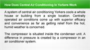 How Does Central Air Conditioning In Yorkers Work