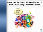 Grow your business with online Social Media Marketing Canberra Service