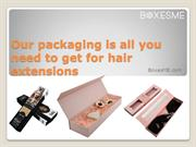 Use these hair extensions packaging