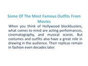 Some of the Most Famous Outfits from Movies