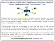 How Advanced MDM Master Data Management Solutions Help You Handle Data