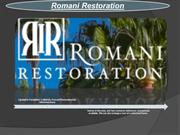 The Experts of Wood Craftsman Restoration with Romani Restoration