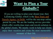 Cheap deals from the Best Tours and Travels Agency in Delhi!