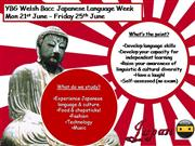 Welsh Bacc Japanese week timetable
