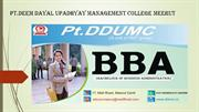 Best BBA Colleges in Meerut Delhi NCR | 2020-21 Admission Open