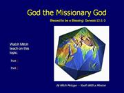 God the Missionary God by Metzger