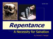 True Repentance by Mitch Metzger