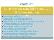 scheduling software for home care agencies
