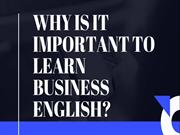Why is it Important to Learn Business English