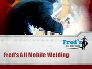 Mobile,Structural Steel,Industrial Welding in Fairfield - Fred's All M