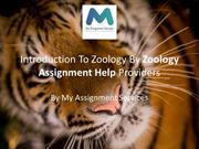 Introduction To Zoology By Zoology Assignment Help Providers