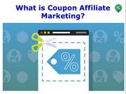 What is Coupon Affiliate Marketing
