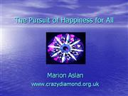 Marion Aslan morning session Pursuit Of Happiness