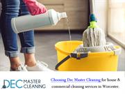 We Are Finest House Cleaning Company - Dec Master Cleaning