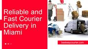 Freight Delivery Services, Hot Shot CourierFL - Courier Service