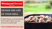 Buy Twin Eagles Grill Covers in USA | Windproof Covers