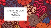 Cheapest The Lion King Tickets