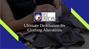 Ultimate Destination for Clothing Alterations