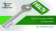 Tips to Choose a Right Chiropractor