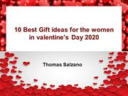 10 Best Gift ideas for the women in valentines Day 2020