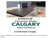 Concrete Sealer in Calgary