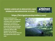 Heinen landscape & irrigation lawn sprinkler and irrigation systems